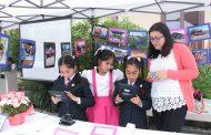 Escolares de Chépica presentan proyectos para su comunidad utilizando tecnología