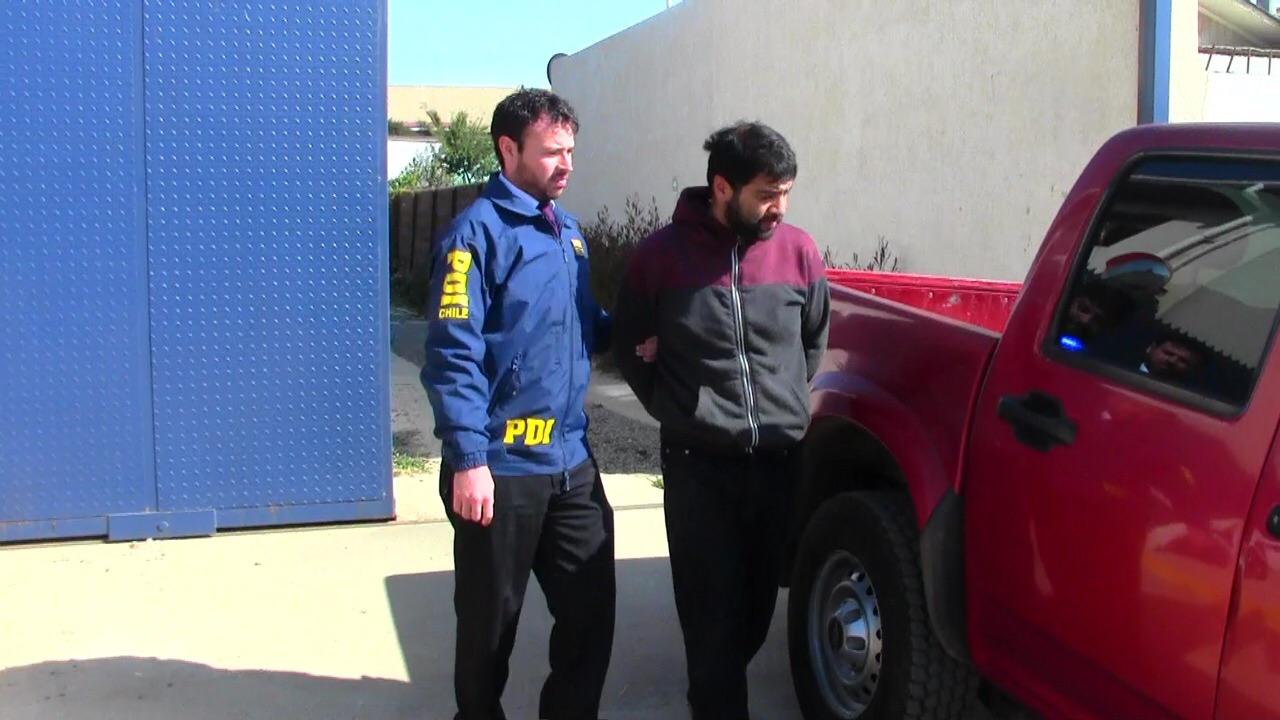 Detienen a presunto autor de parricidio en Pichilemu: Herencia de $30 millones habría gatillado el crimen