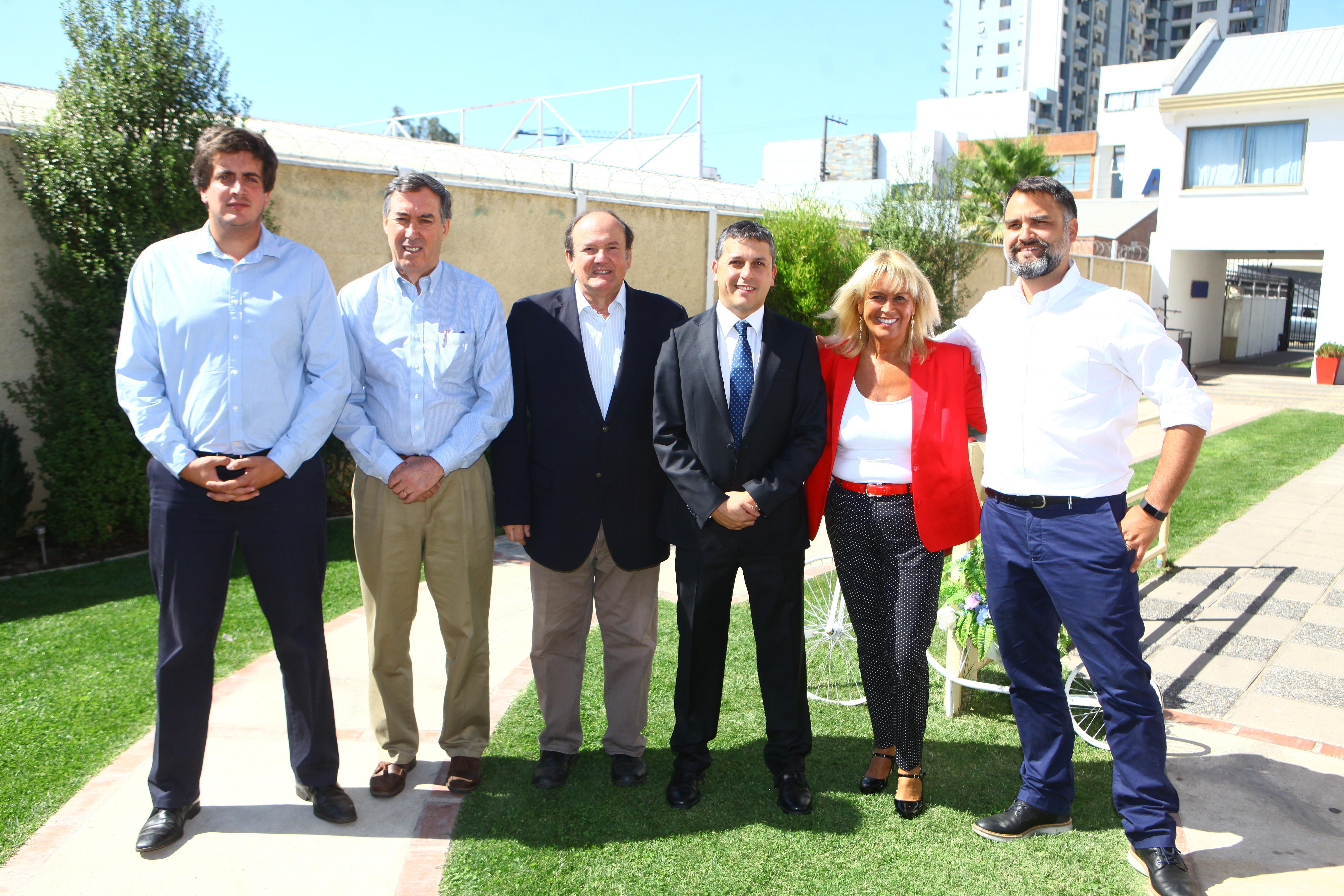 Intendente Juan Manuel Masferrer sostuvo primera reunión de trabajo con Chile Vamos
