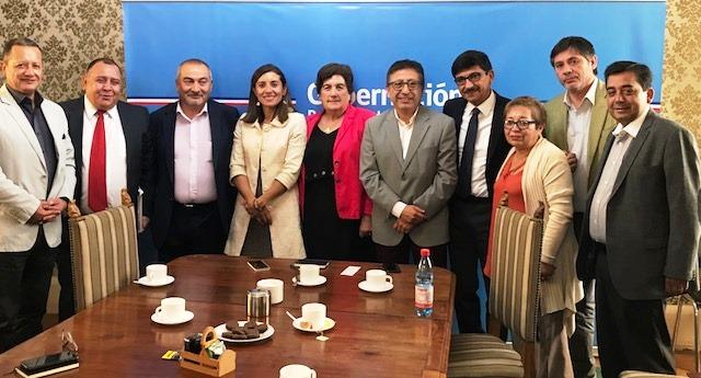 Gobernadora Ivonne Mangelsdorff sostiene su primera reunión con Alcaldes de la Provincia de Cachapoal