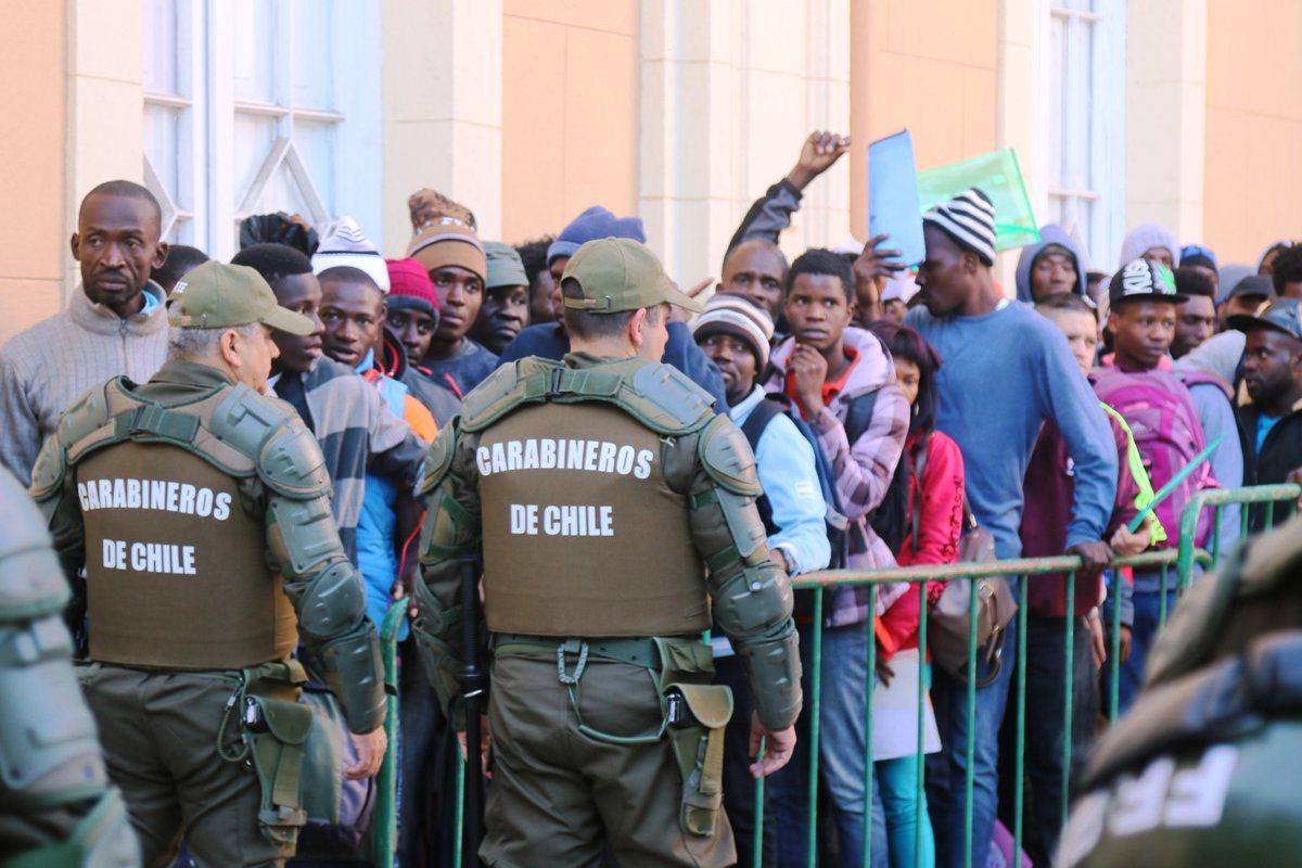 Inician nuevo plan de atención para extranjeros en Rancagua