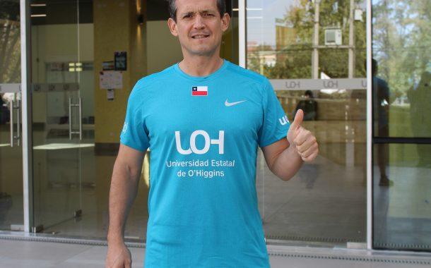 Deportista rancagüino representará a Universidad de O'Higgins en Maratón de Londres