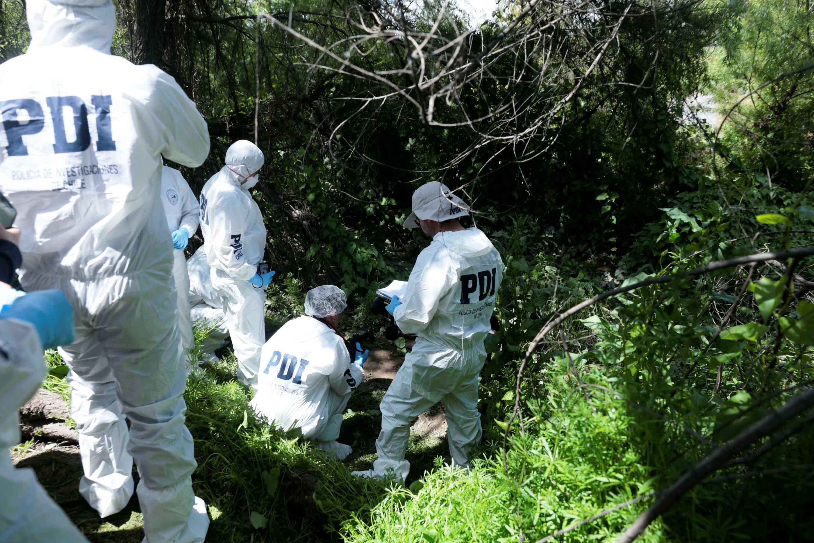 Investigan misterioso hallazgo de cuerpo en Cerro de Chancón