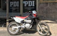 Recuperan moto robada que estaba siendo ofertada por internet