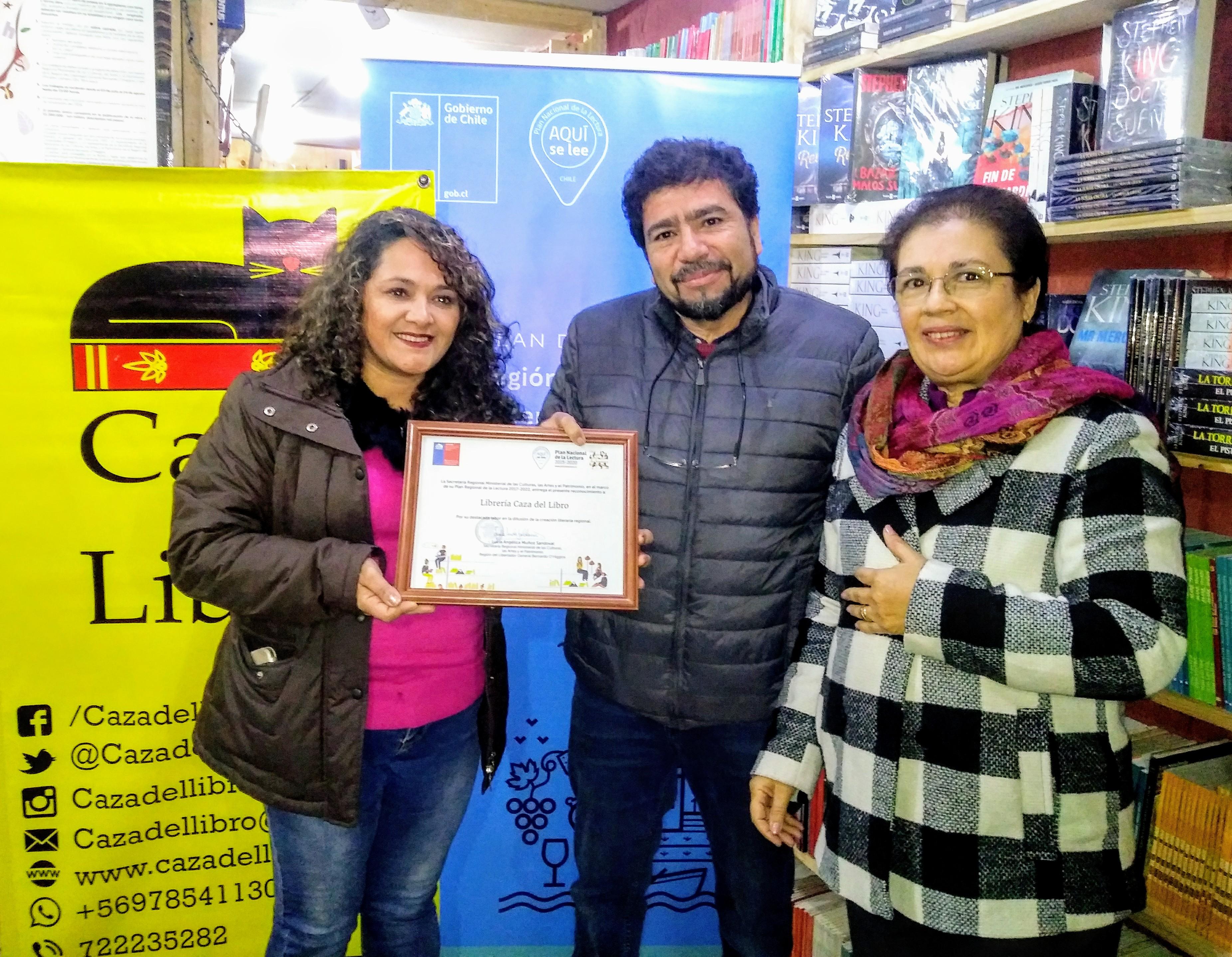 Con reconocimiento a librería rancagüina se lanzó la quinta versión del Concurso de Poesía Óscar Castro