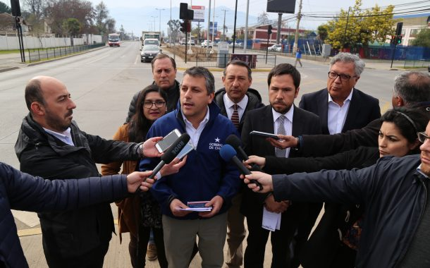 Intendente Masferrer anunció que esta  año se iniciarían obras de nueva vía Rancagua-Machalí