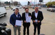 Dirigentes destacan y valoran rápidos avances en nueva vía Machalí-Rancagua