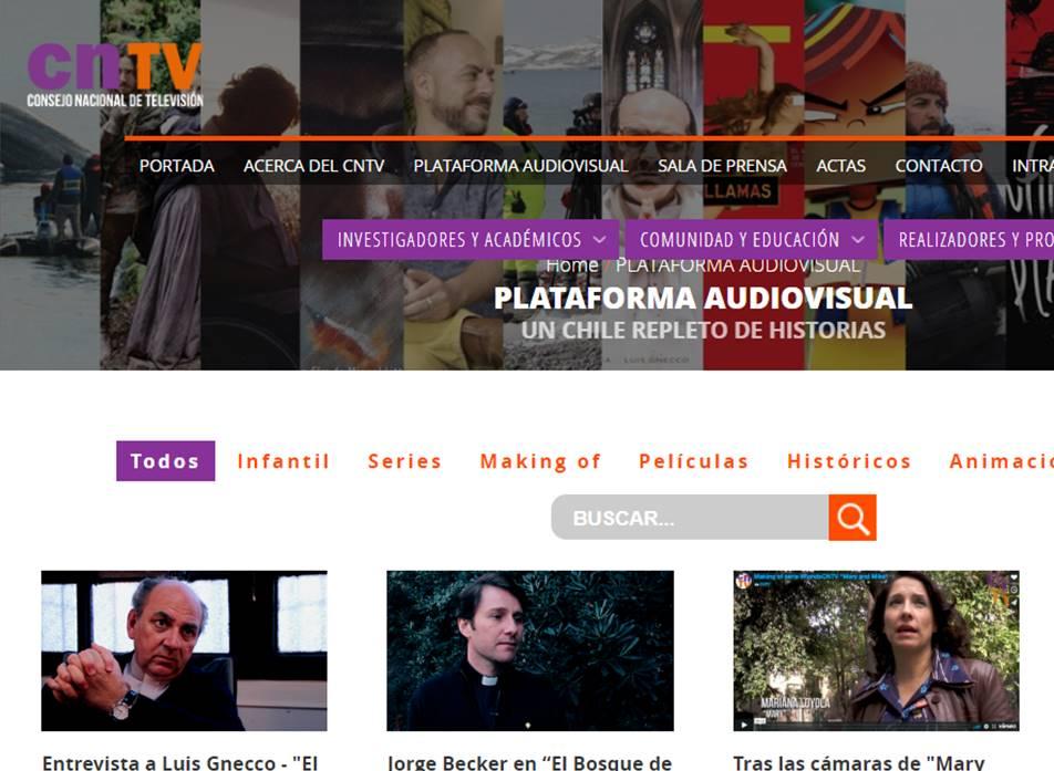 CNTV presenta nueva plataforma en línea para ver contenidos audiovisuales