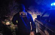 PDI detiene a joven de 17 años por homicidio en Cerro San Juan de Machalí