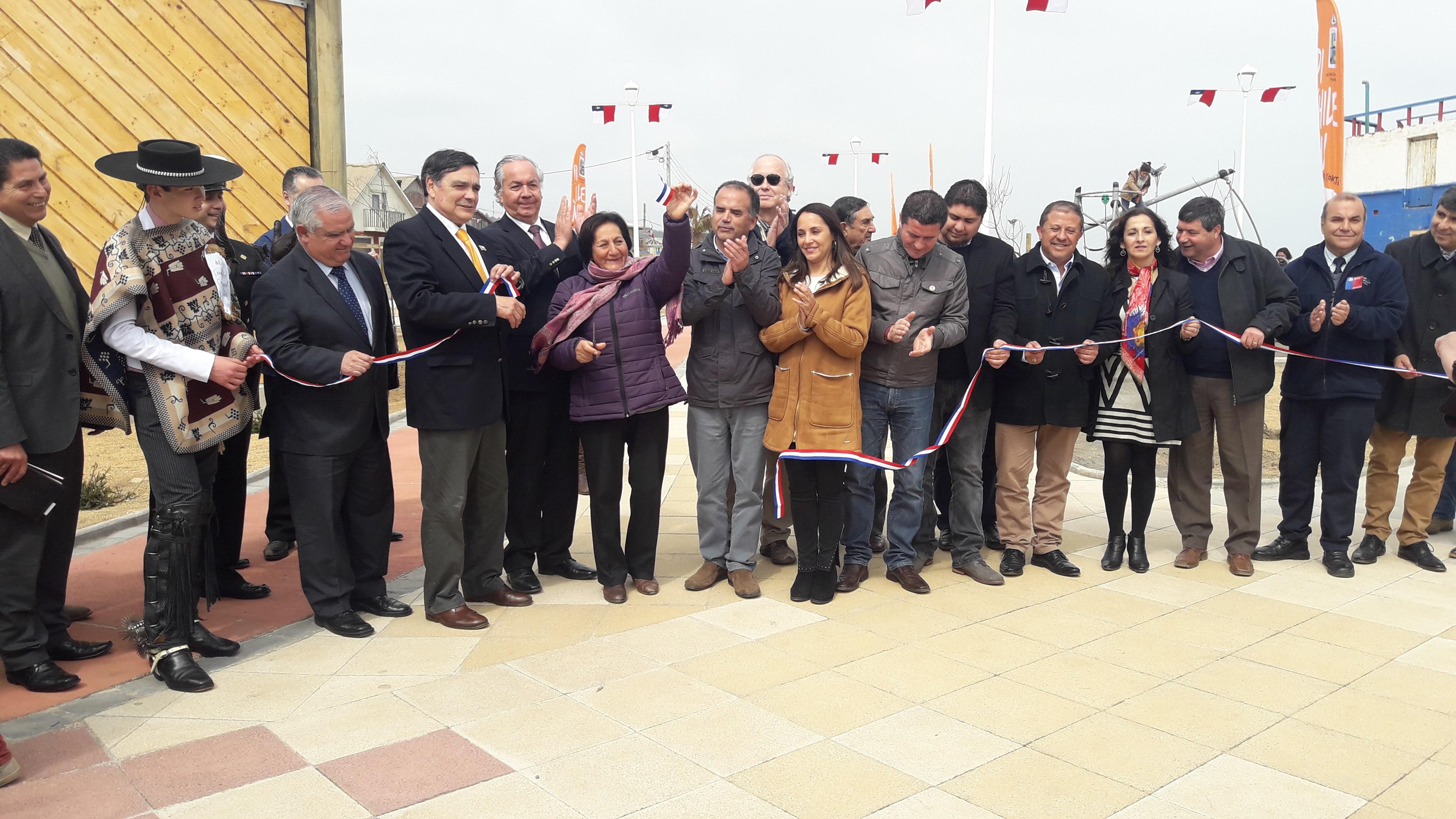 Inaugurado Borde Costero de Pichilemu