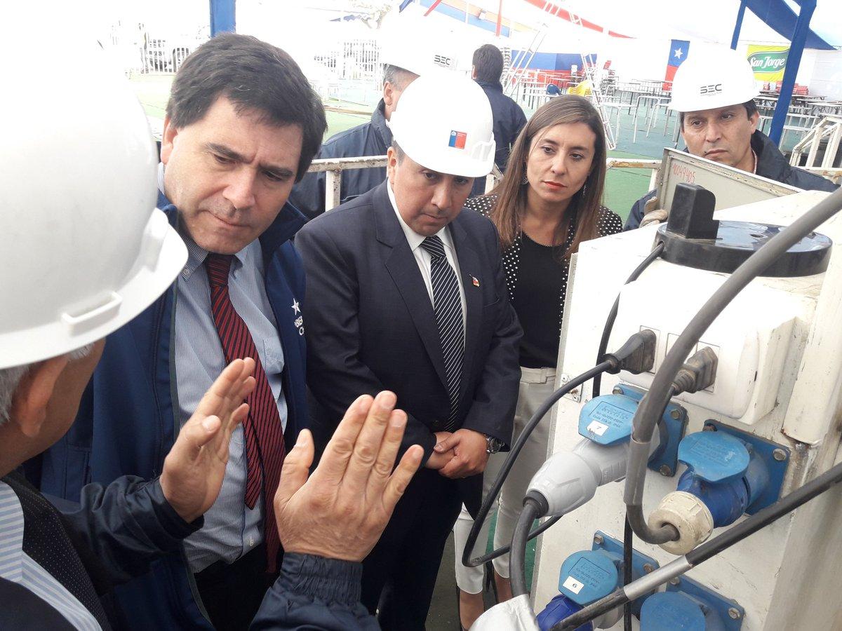 Subsecretario de Energía participa en fiscalización de instalaciones en fondas de la Región de O'Higgins