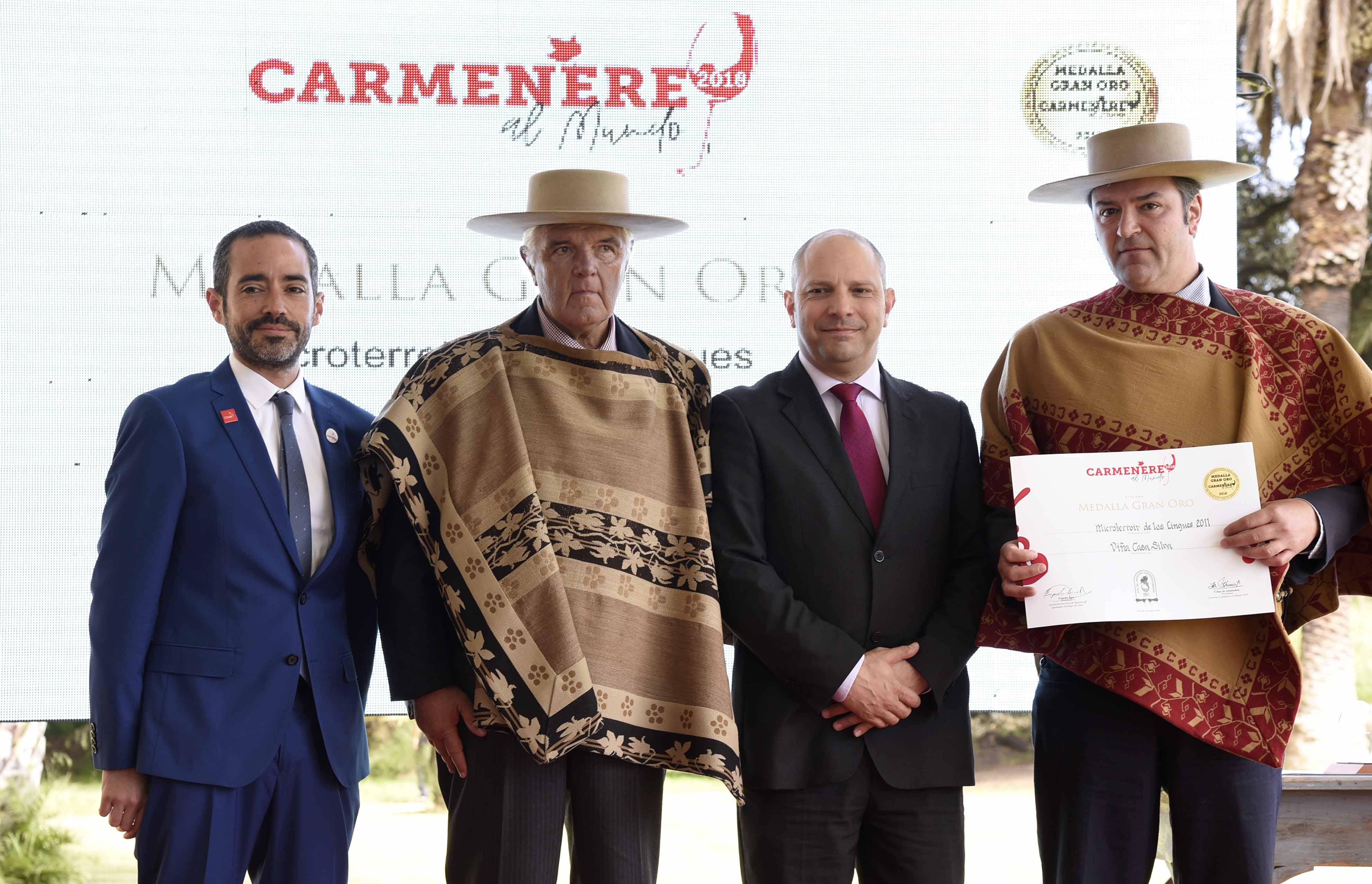 Carmenère al Mundo 2018: Casa Silva se llevó el gran trofeo al mejor Carmenère de Chile