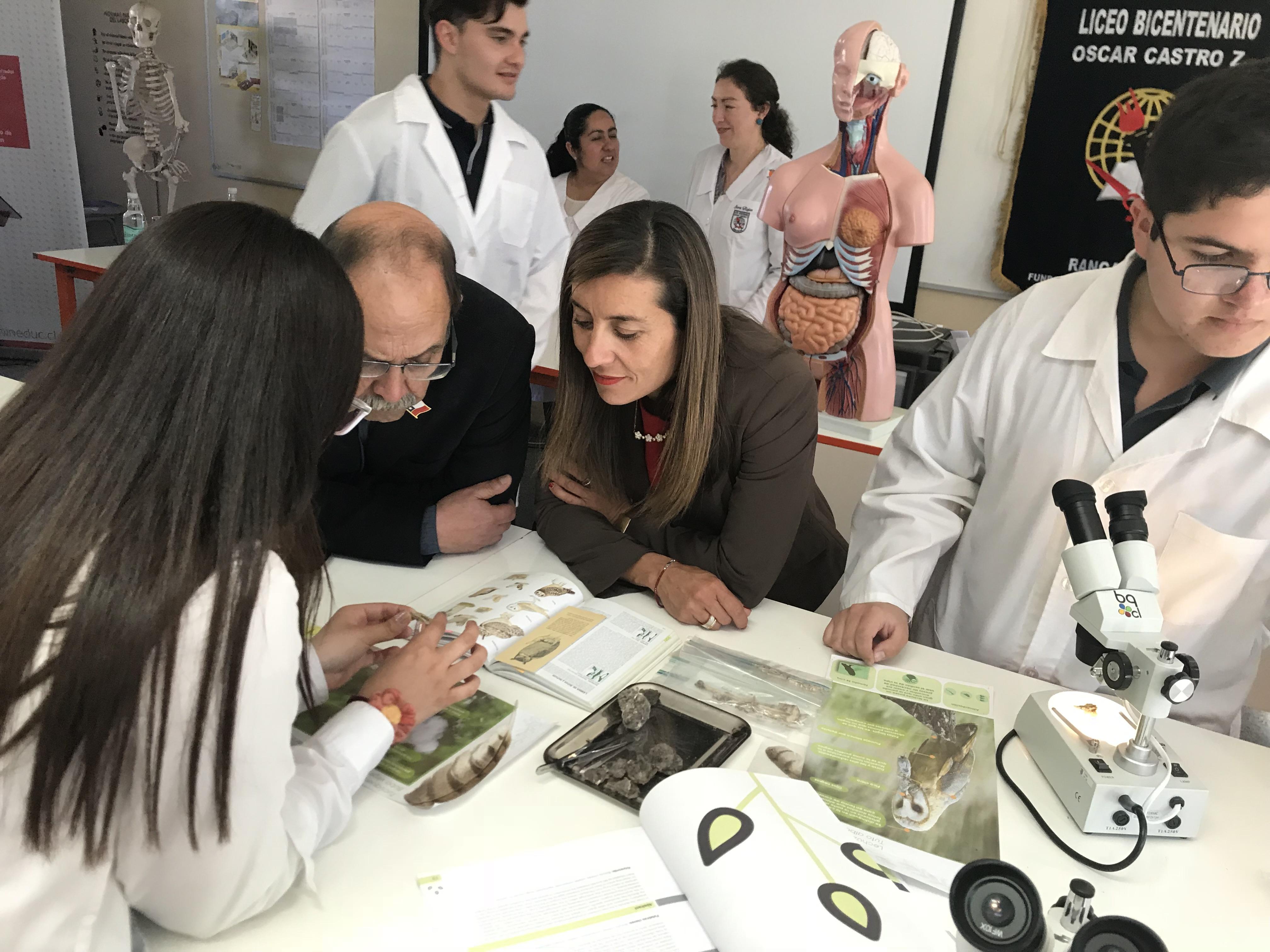 Lanzan postulación de Liceos Técnico-Profesional de la región a la red Bicentenario