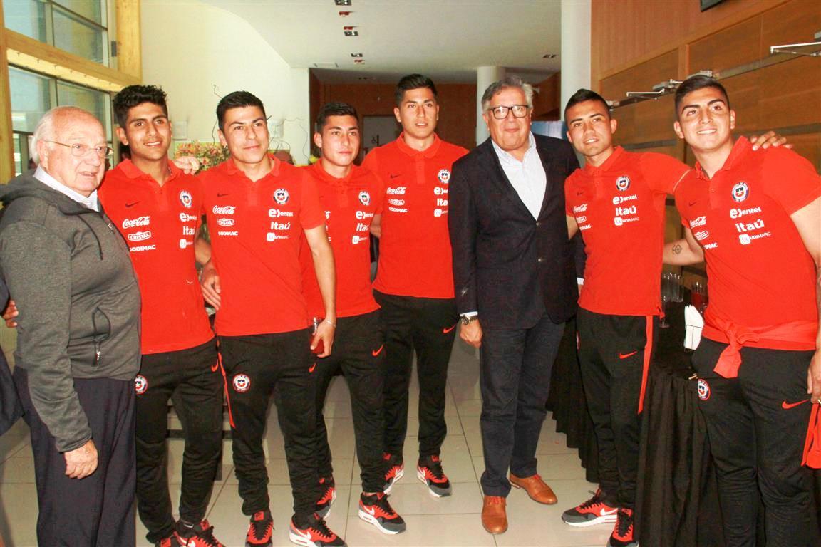 Sudamericano Sub 20: Chile compartirá grupo con Brasil, Colombia, Venezuela y Bolivia