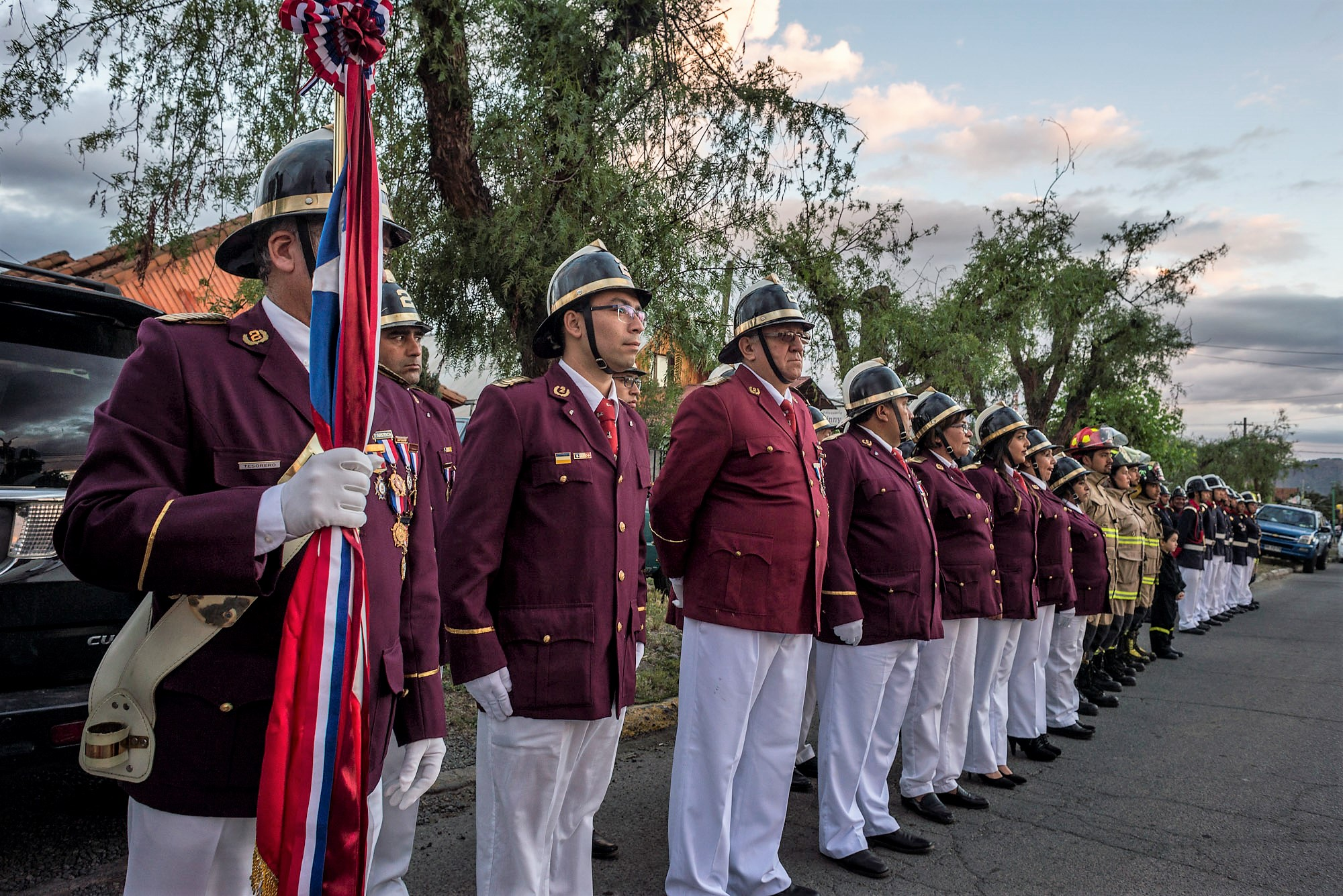 Estrenan Documental sobre Historia de Bomberos de Lo Miranda