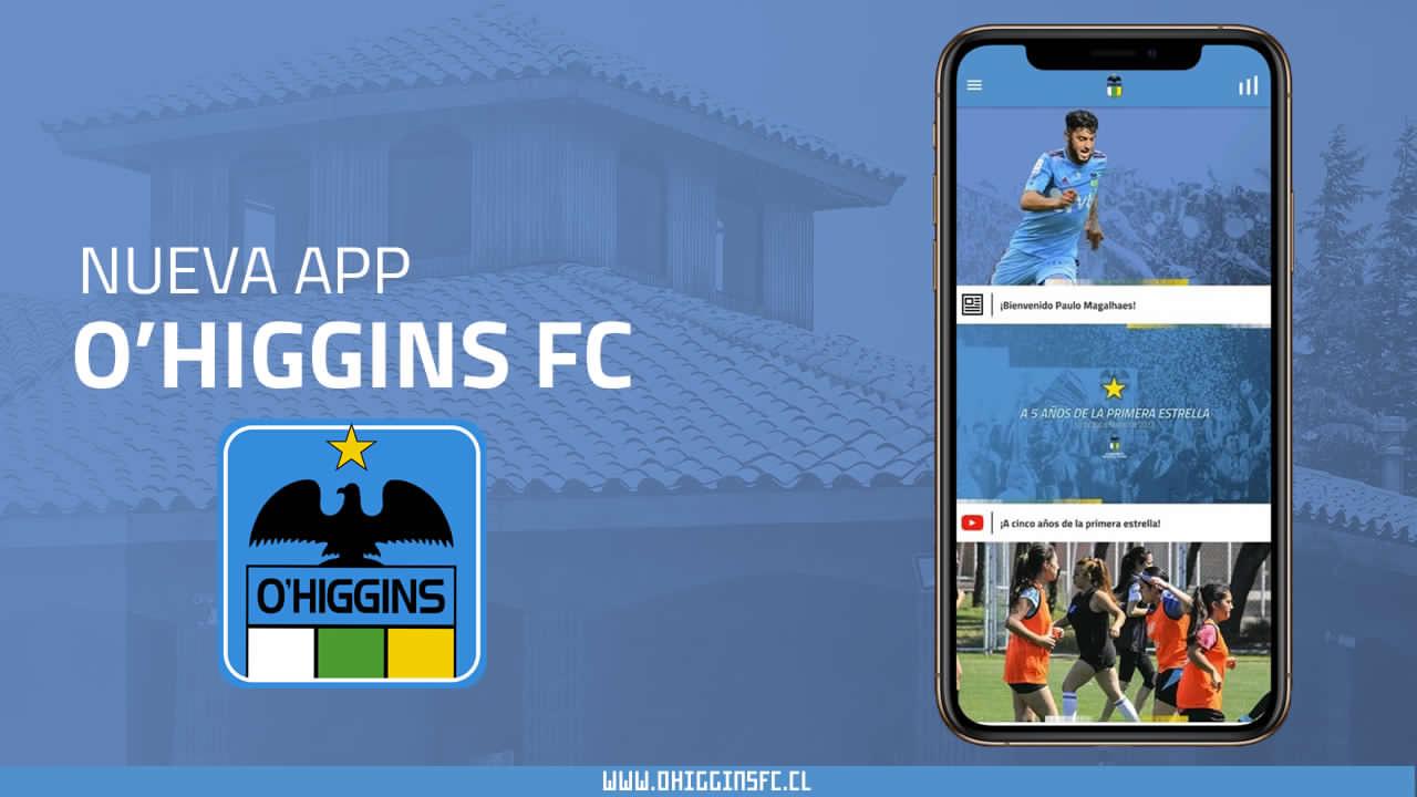 O'Higgins FC lanza su aplicación móvil oficial