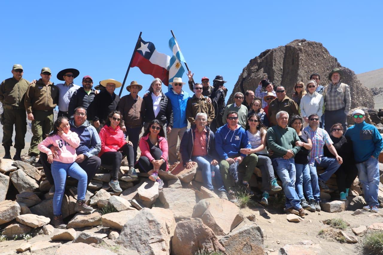 Consejeros Regionales visitan Hito Fronterizo Paso Las Damas