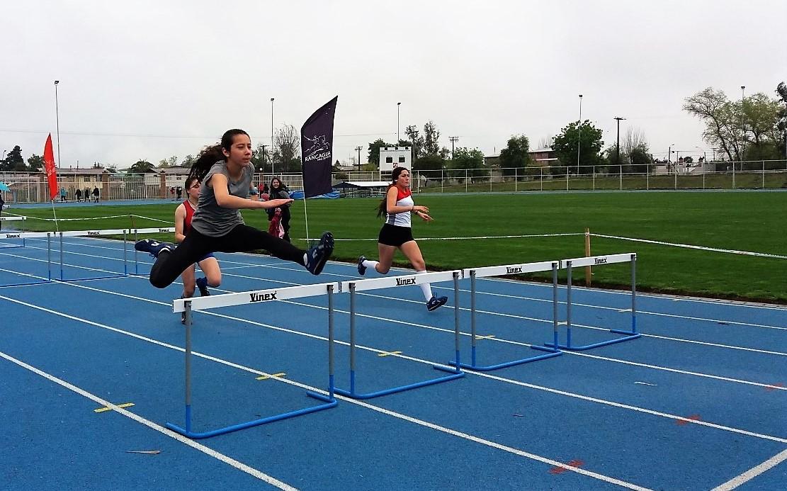 El atletismo escolar será protagonista este fin de semana en Rancagua