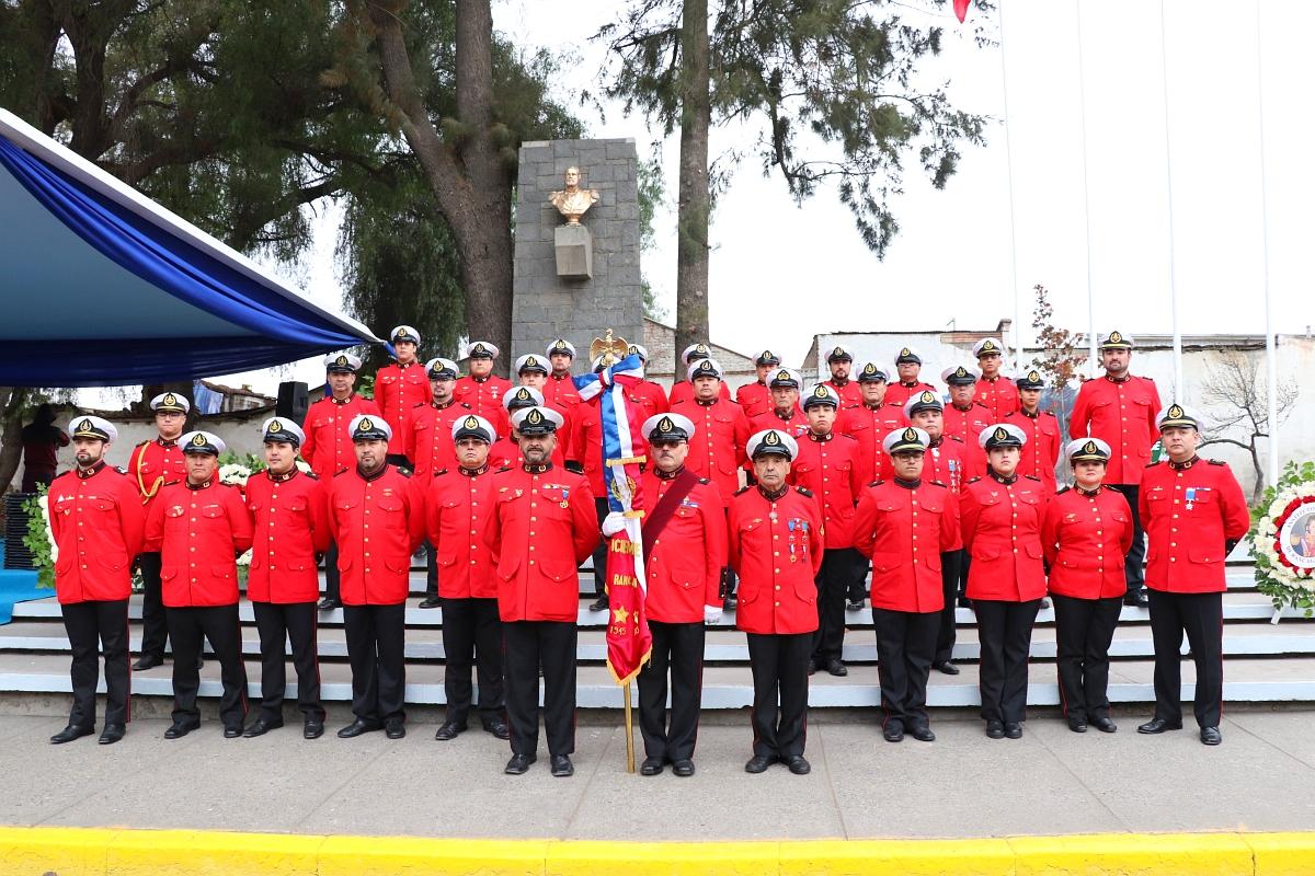 Rancagua recordó a los héroes del Combate Naval de Iquique