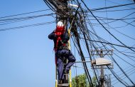 En San Fernando concluye segunda fase de retiro de cables para evitar basura aérea