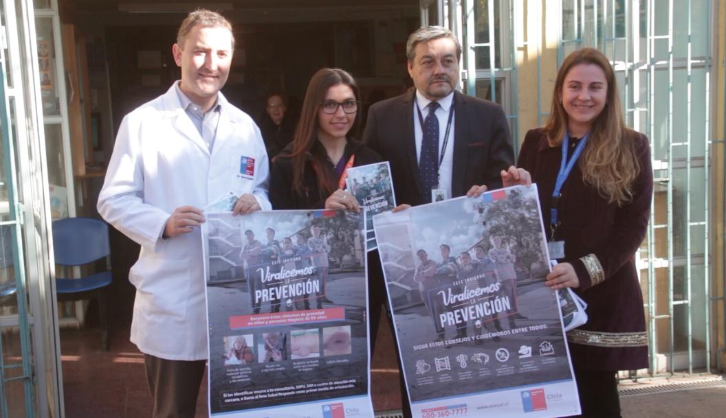 Rancagua: Lanzan campaña de Invierno con fuerte llamado a la Prevención