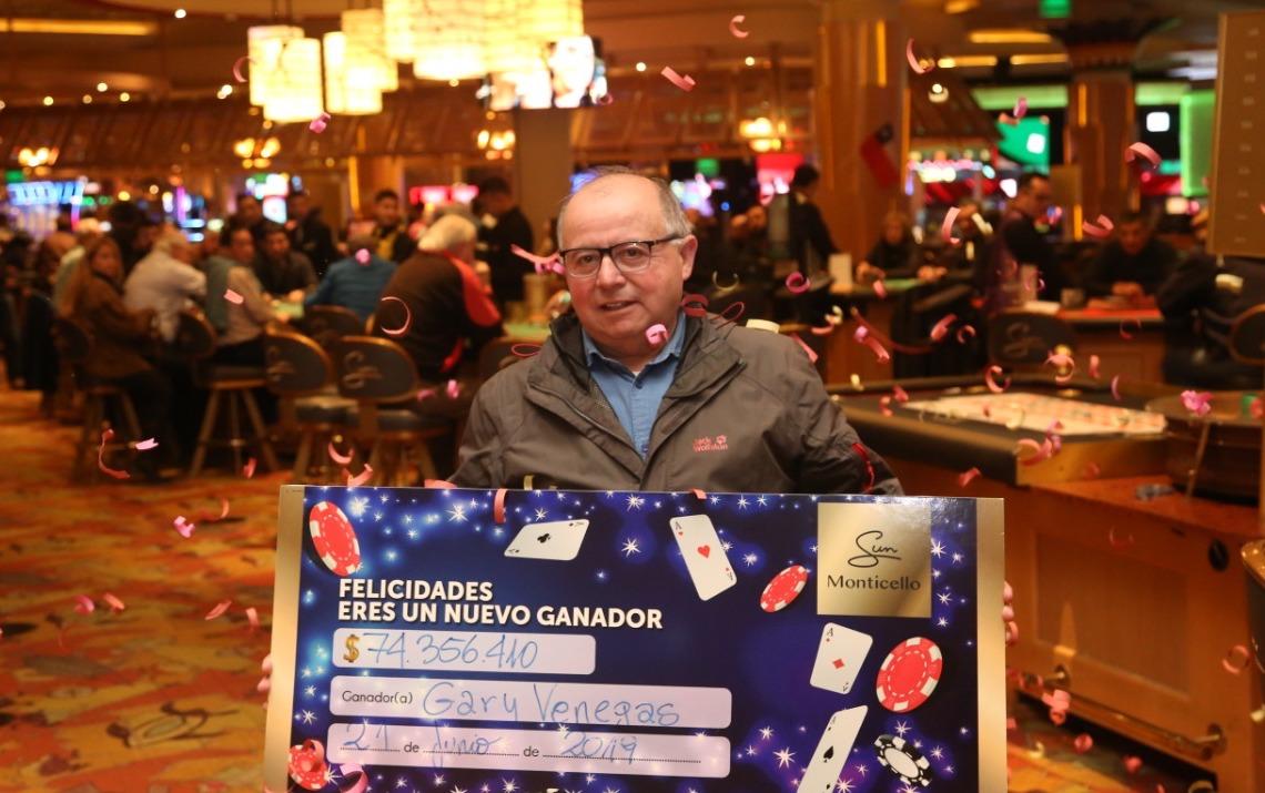 Jugador de póker gana más de 74 millones de pesos en Casino Sun Monticello