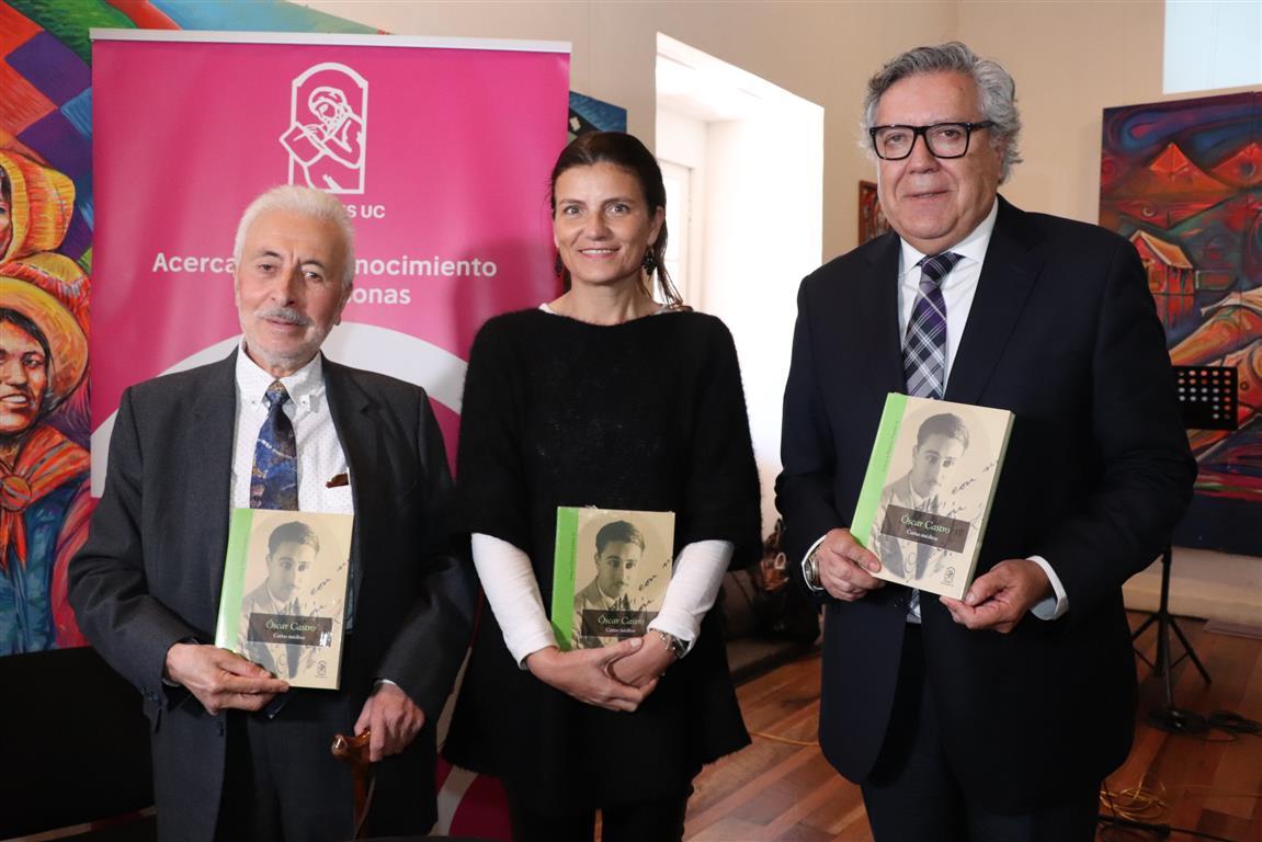 """""""Óscar Castro, Cartas inéditas"""" Un nuevo hito a la historia bibliográfica de Óscar Castro Zúñiga"""