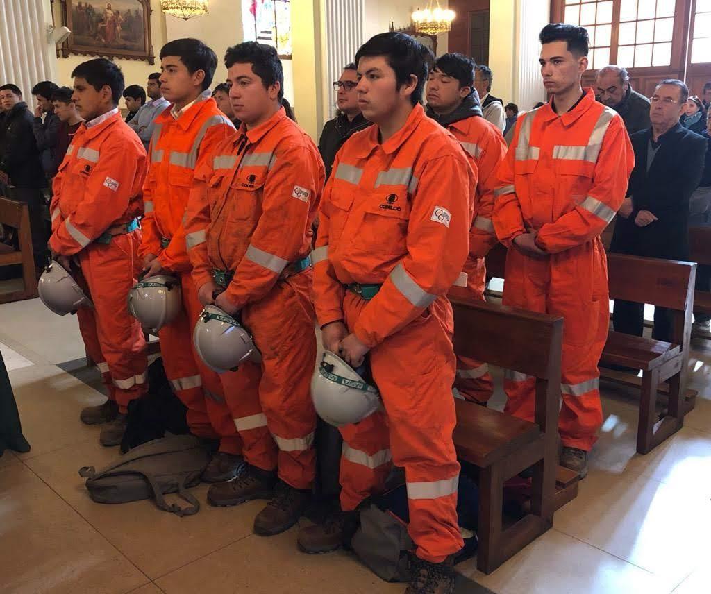 Seremi de Minería celebra a San Lorenzo con Misa dedicada a mineros de O'Higgins