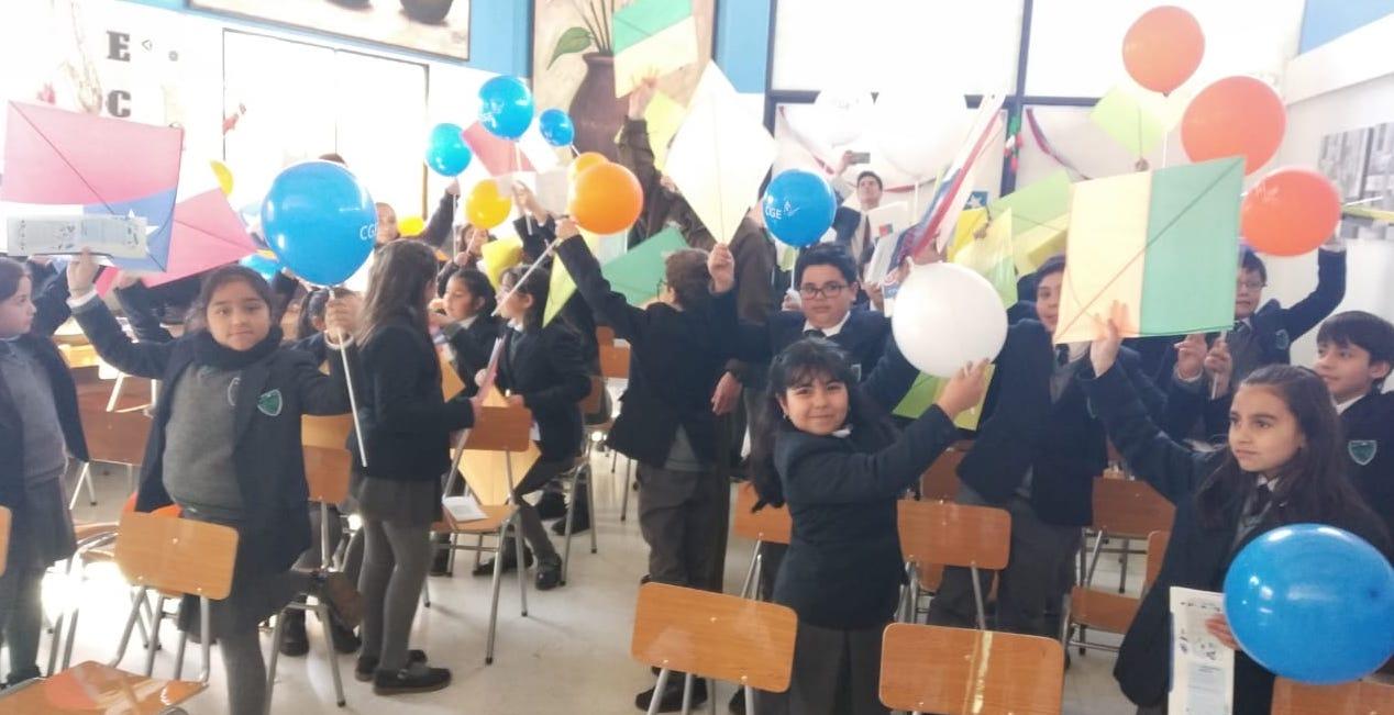 CGE invita a niños y niñas de la región a elevar volantines de forma segura