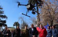 Carabineros y PDI ya cuentan con drones para vigilar Rancagua