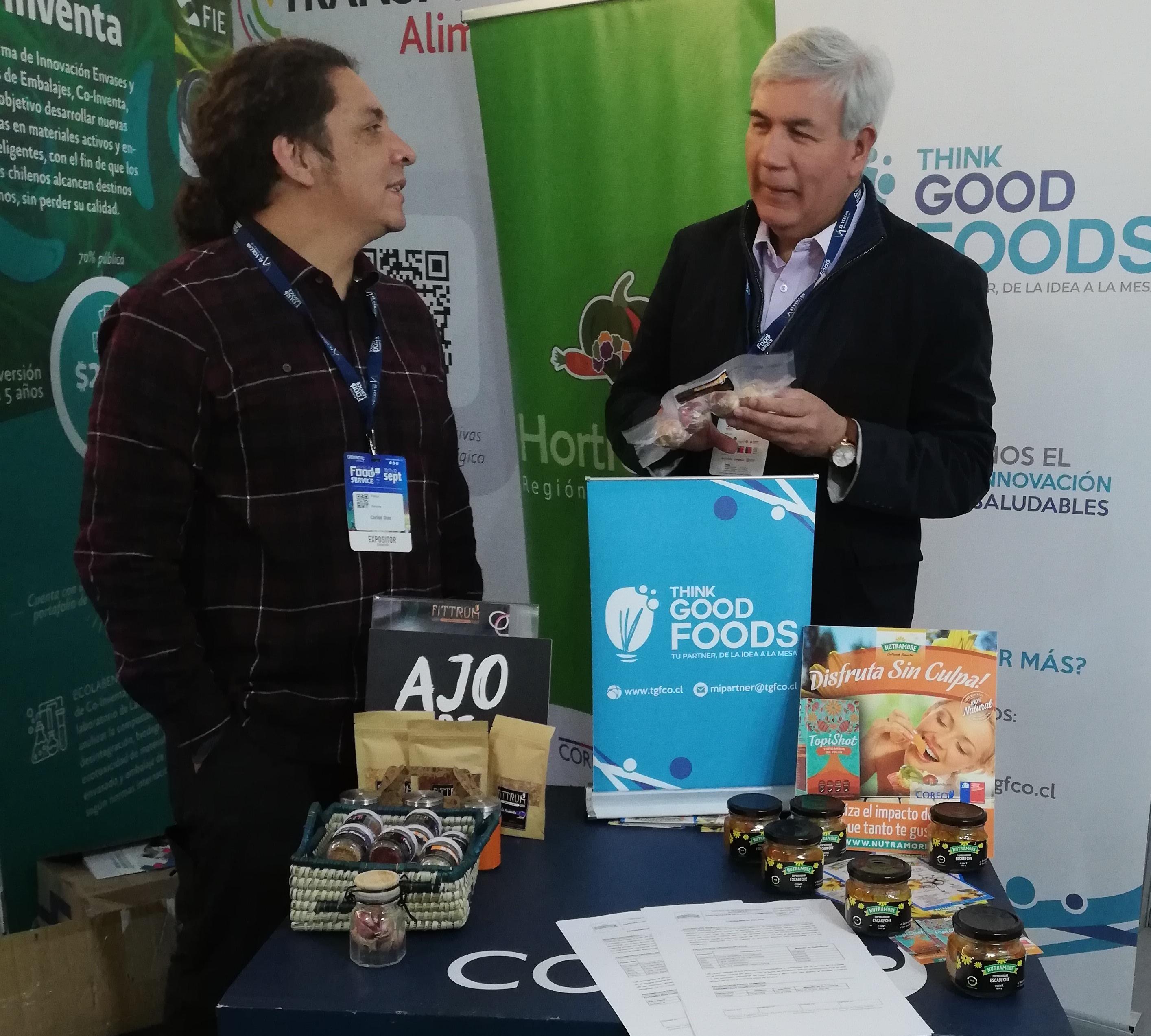 Productores de O'Higgins llevaron todo su desarrollo e innovación a espacio Food & Service