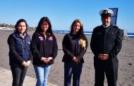 Sernatur y Armada realizan operativo de turismo aventura en Pichilemu