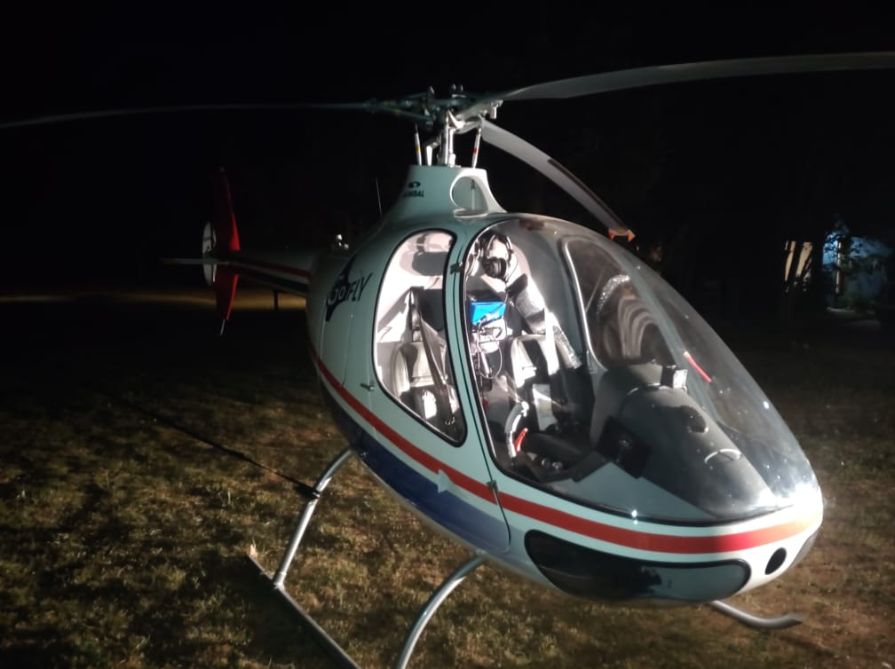 Empresa denuncia el robo de un helicóptero en Requínoa