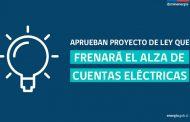 Aprueban en el Congreso mecanismo de estabilización de las tarifas eléctricas