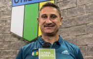 Patricio Graff fue presentado como el nuevo entrenador Celeste