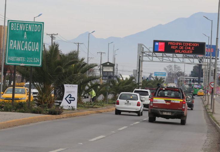 MOP O'Higgins inicia Estudio de Prefactibilidad Mejoramiento Conectividad Rancagua-Machalí vía transporte público