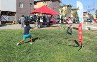 Niñ@s de población Baltazar Castro participaron en feria deportiva