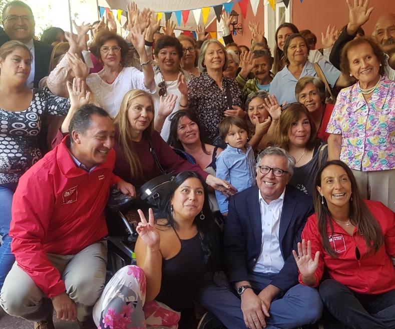 Ministra del Deporte anuncia nuevo polideportivo y piscina temperada para Rancagua