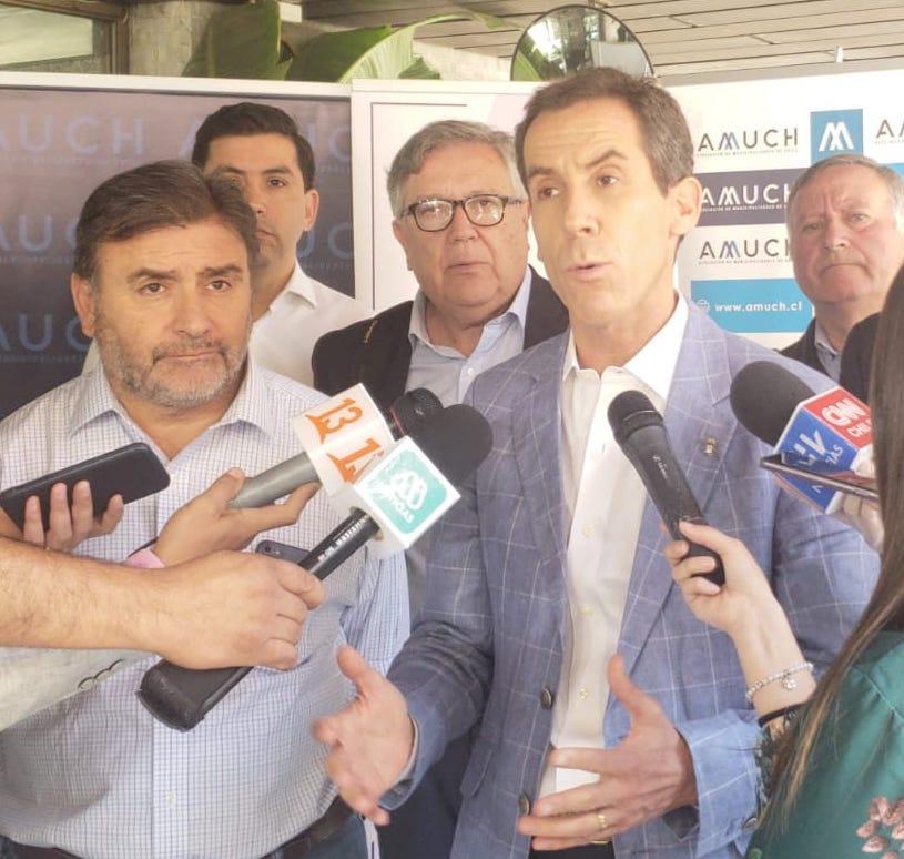 Alcalde Eduardo Soto solicita al gobierno decrete cuarentena nacional por coronavirus