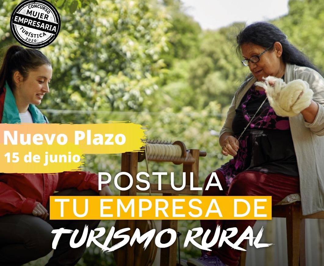 Nuevo plazo para participar y ganar $2.000.000 en concurso Mujer Empresaria Turística 2020