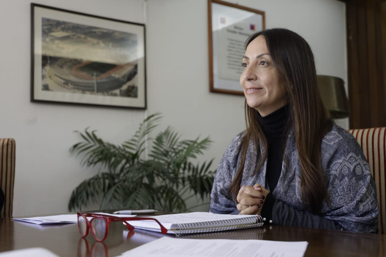 Ministra Cecilia Pérez ratitica obras de infraestructura deportiva en Región de O ́Higgins pese a crisis sanitaria