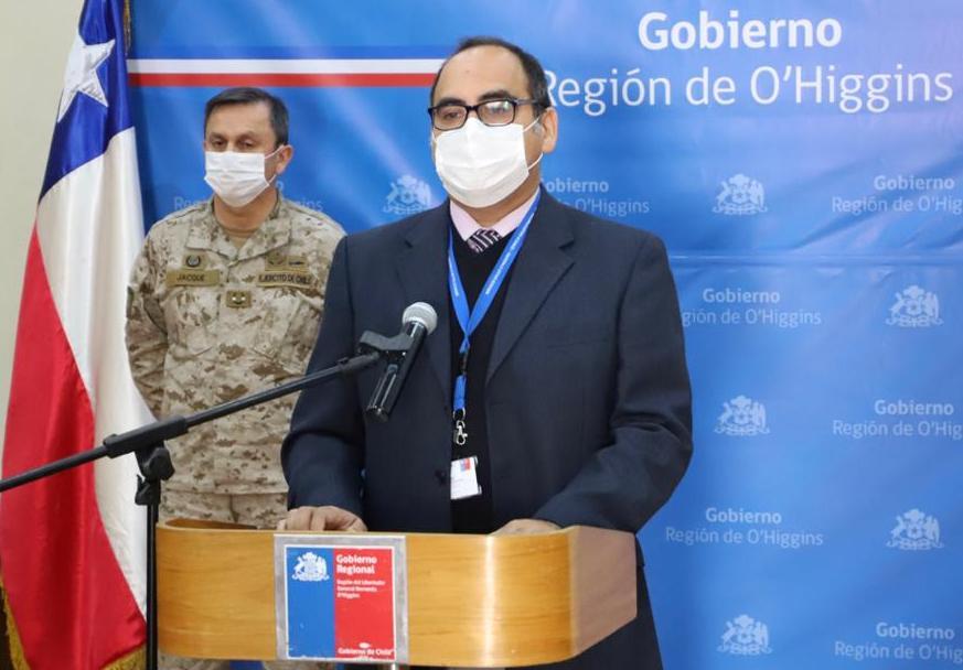 COVID-19: Dos nuevos casos presenta la región en las comunas de Rancagua y Litueche