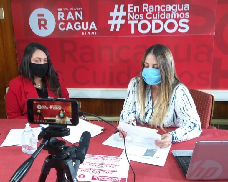Municipalidad de Rancagua lanza primer taller on line para combatir violencia en contra de la mujer