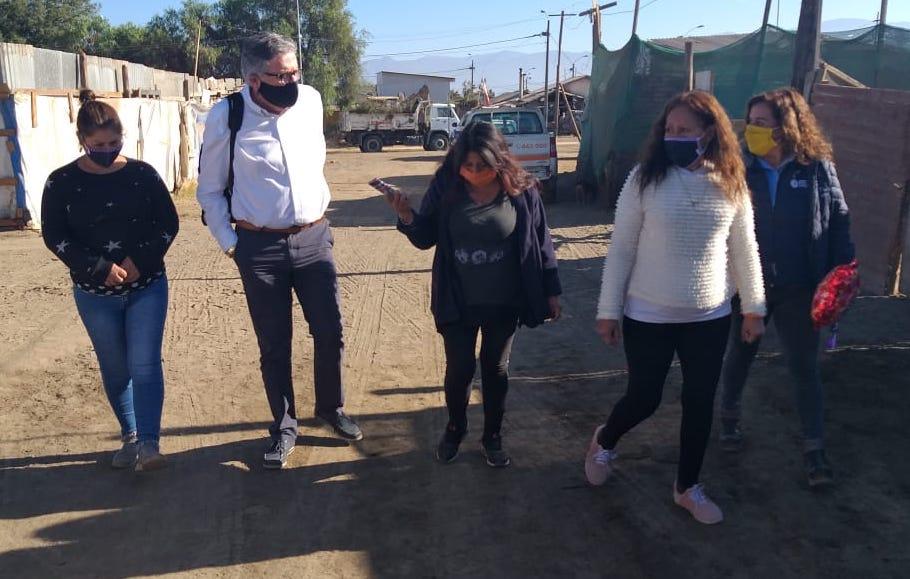 Emergencia por COVID 19: Se refuerza plan de sanitización municipal en campamentos de Rancagua