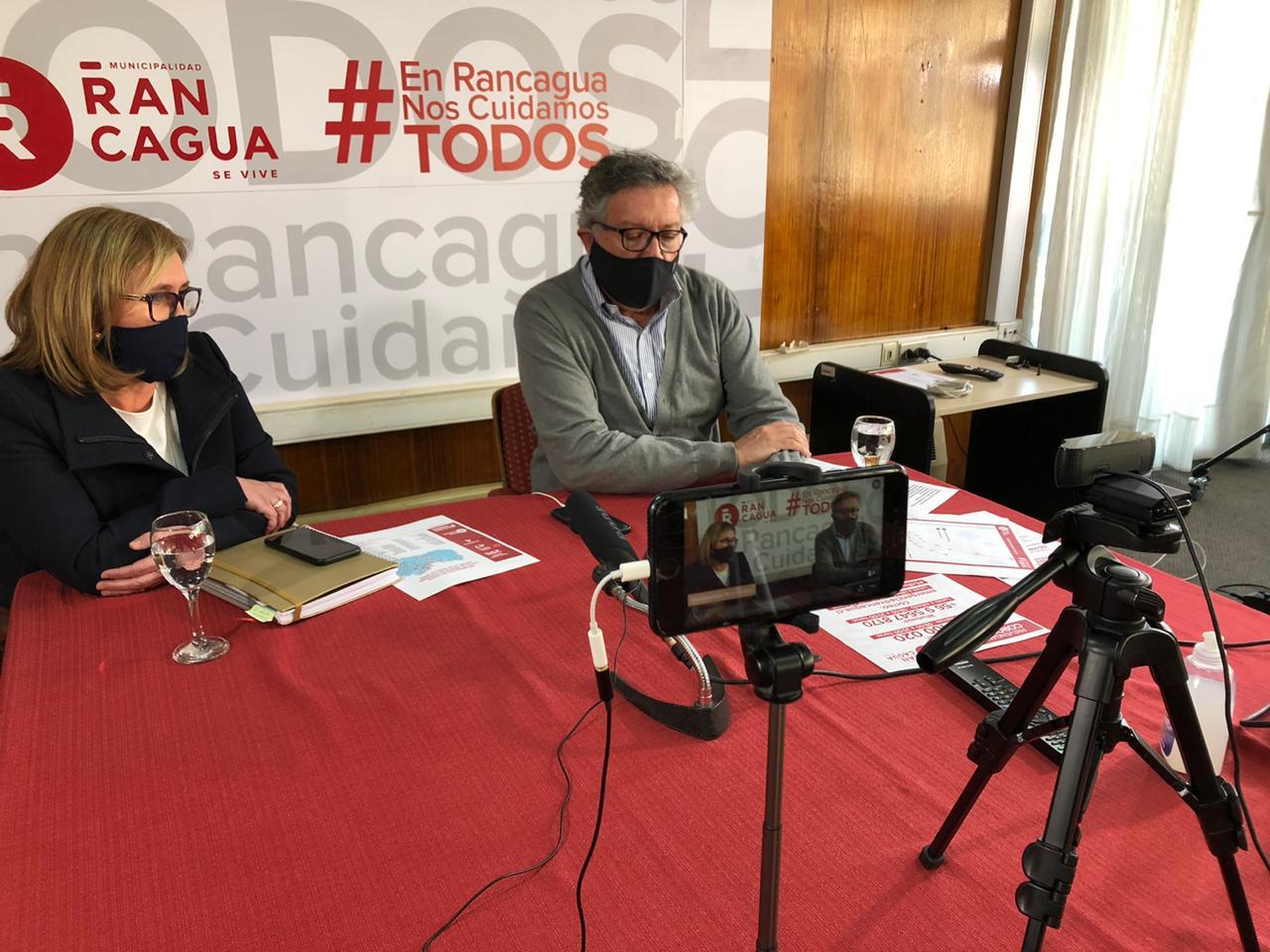 Alcalde Eduardo Soto pide a Intendenta que implemente cuarentena en Rancagua