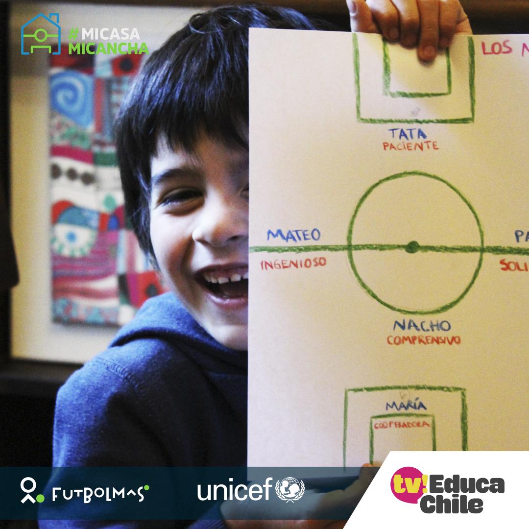 ¡El fútbol se toma TV Educa! Programa de Fundación Fútbol Más y UNICEF llega a la señal digital
