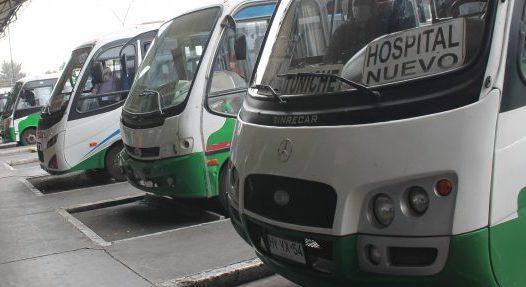 hoy comienza paro indefinido de buses rurales en la región