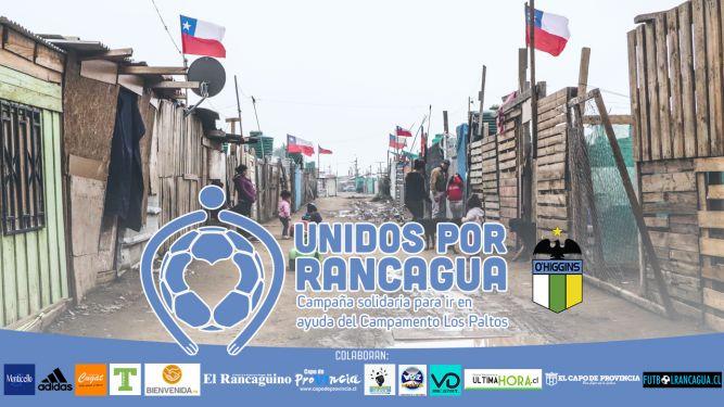 Unidos por Rancagua: O'Higgins inicia gran campaña solidaria