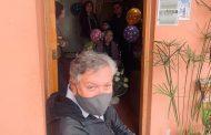 Alcalde de Rancagua entrega reconocimiento a vecina que cumple 101 años