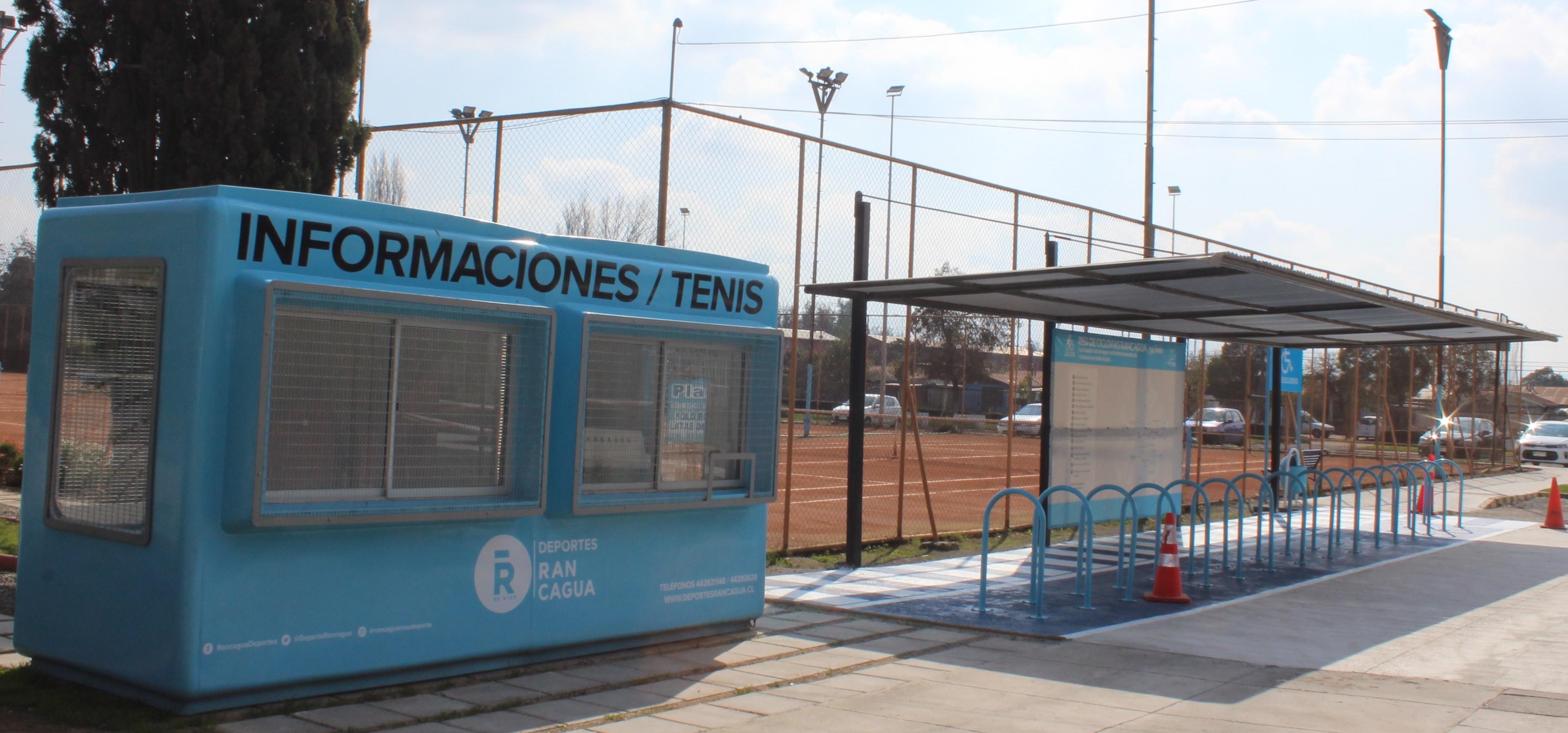 Recintos deportivos municipales de Rancagua se renuevan en tiempo de pandemia